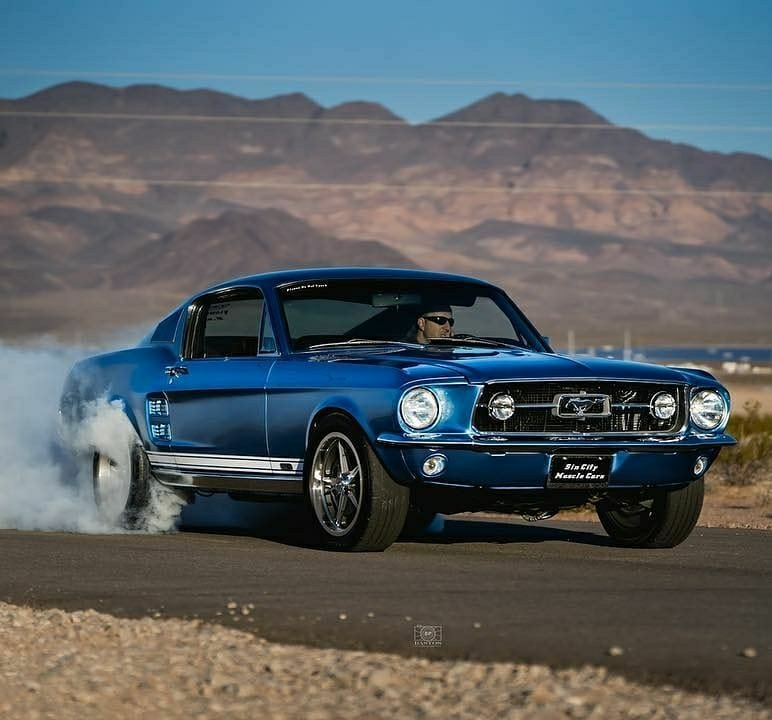 sin city muscle cars mustang