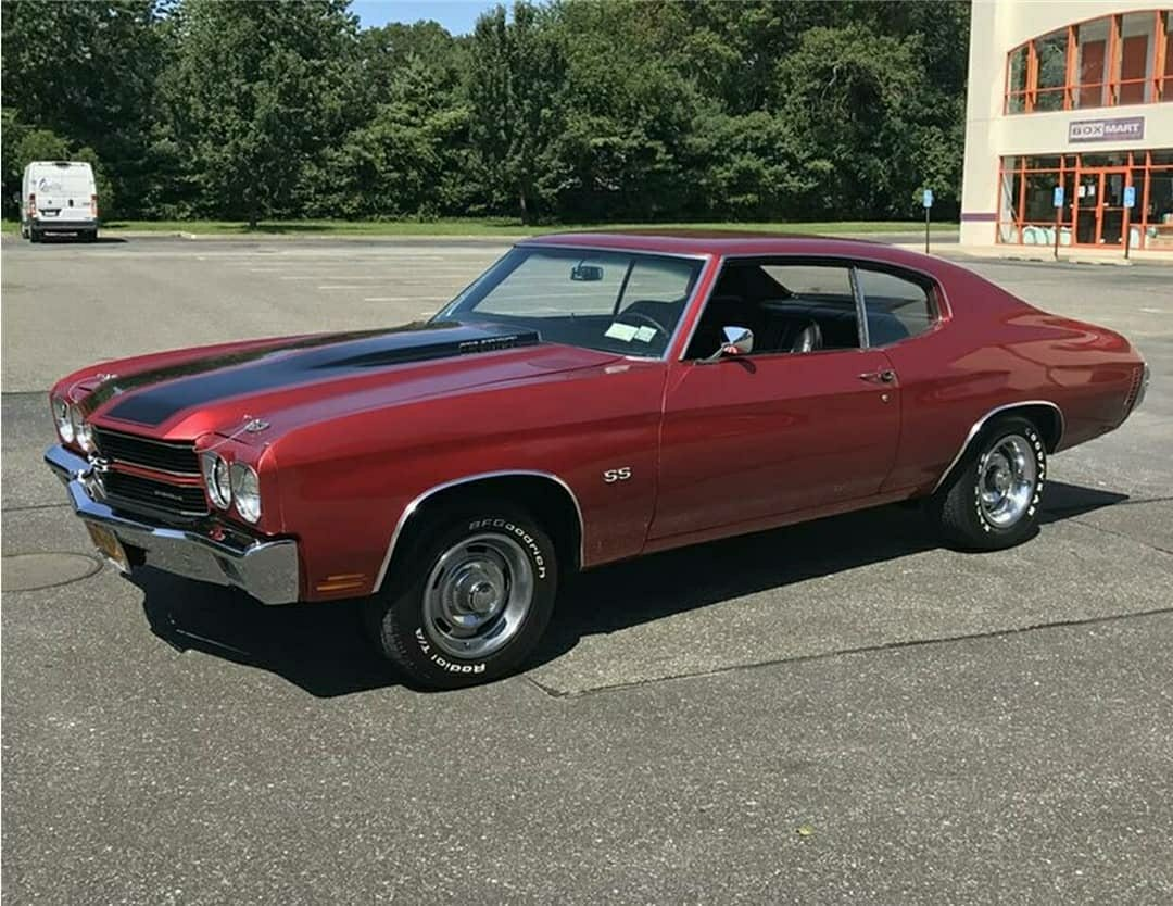 red 1970 Chevelle