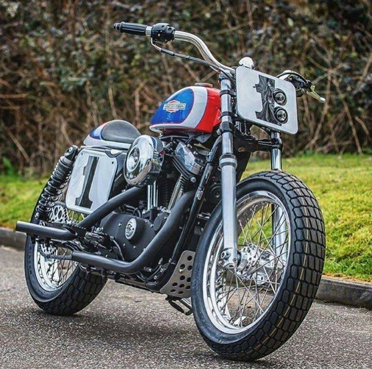Harley Hooligan Street Tracker