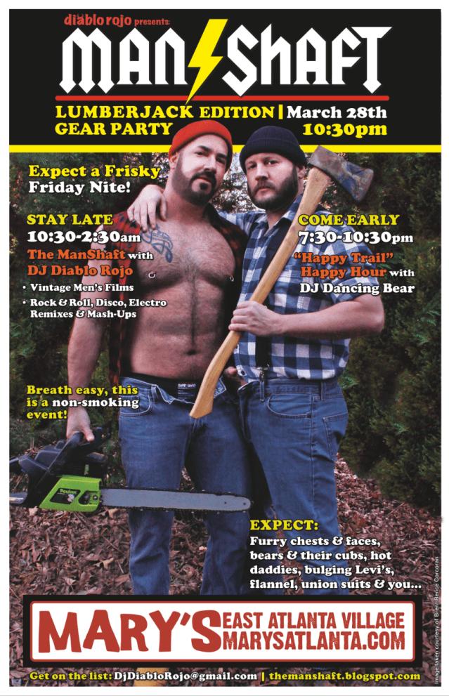 03.28.14 - Event Poster LumberJack Edition