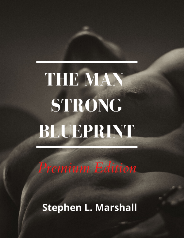Cover page - strong man with visible abs