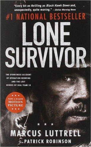 Lone Survivor book - toughess