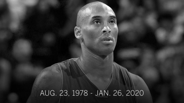 Kobe Bryant - August 23, 1978 - January 26, 2020