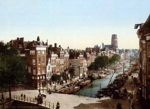 the-delftsevaart-in-rotterdam-netherlands-around-1900