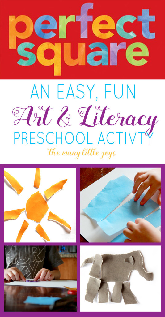 Bring your child's imagination to life and develop preschool art and literacy skills by using this simple, fun book to inspire your own creations.