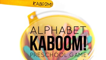 Free Printable Alphabet Flashcards (upper and lowercase