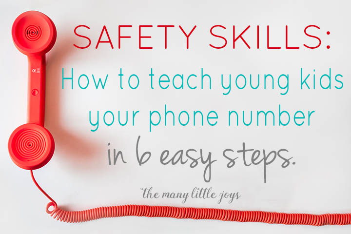 If your child ever got separated from you, would they know your name and phone number to give to a trusted adult? These simple activities will give your kids a key tool to keep them safe in case of such an emergency.