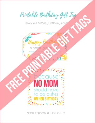 A Meal With NO Dishes A Perfect Last Minute Birthday Gift For Moms