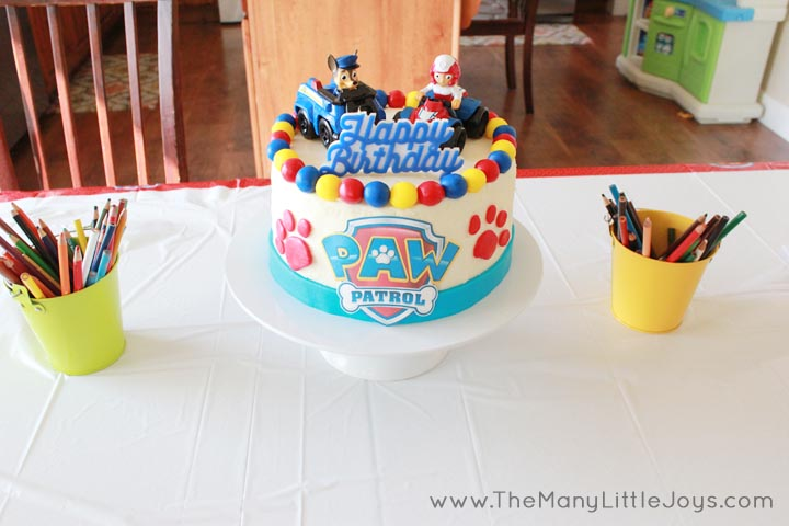 Paw Patrol Birthday Party A Real Mom S Guide The Many Little Joys