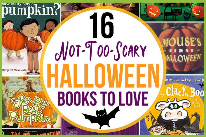 16 not too scary halloween books kids will love the many little joys