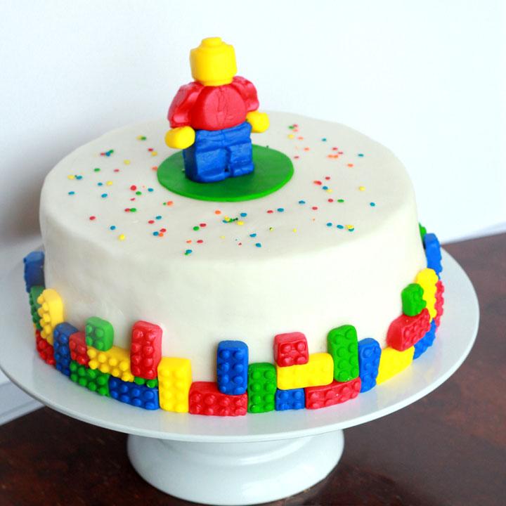 Bricks Blocks Paper Bags Birthday Party Gift Cake Candy Treat Sweet Kids P/&M