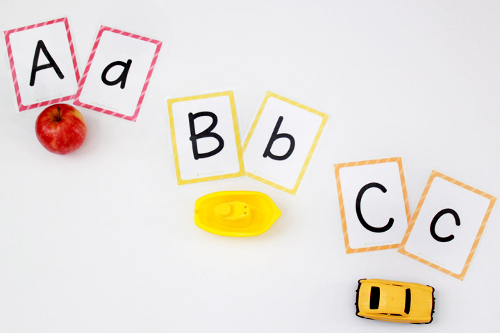 photo about Alphabet Cards Printable identified as Absolutely free Printable Alphabet Flashcards (higher and lowercase