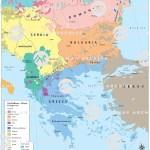 The Balkans Ethnic Groups 1914