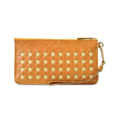 Cadenza Clutch, Hazelnut Brown
