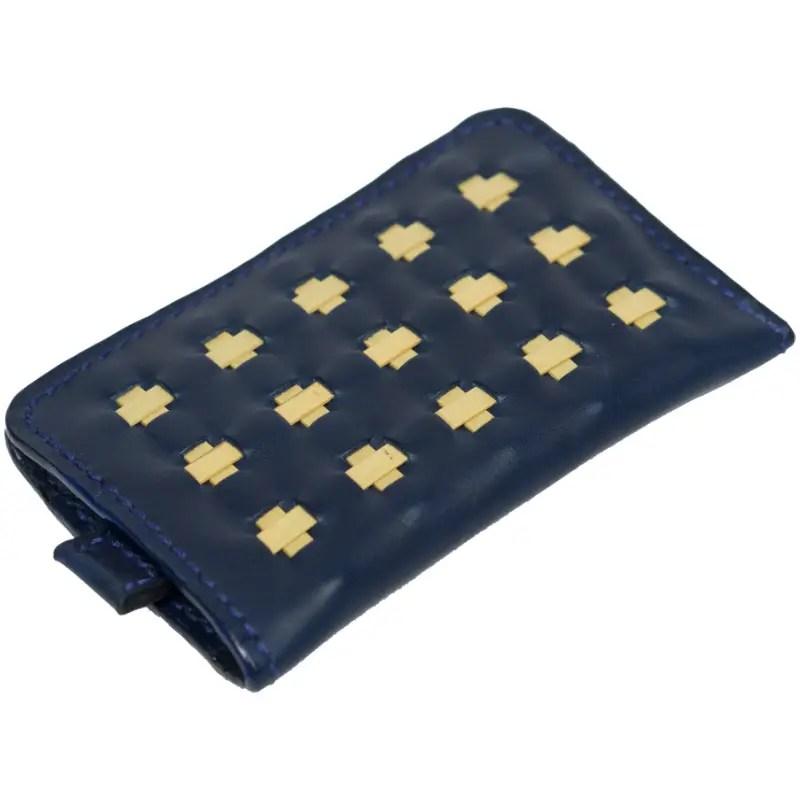 mini wallet marine blue