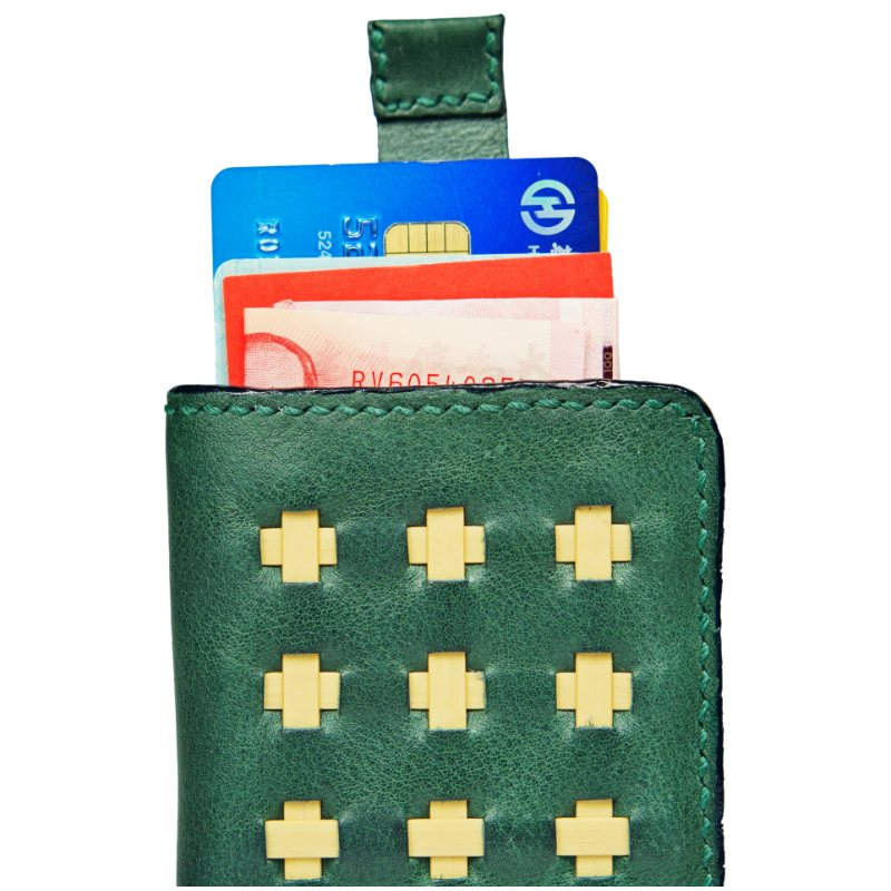 green wallet openup