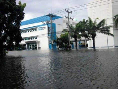 Western Digital plant flooded