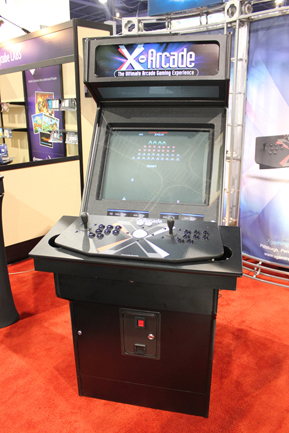 X-Arcade Upright front