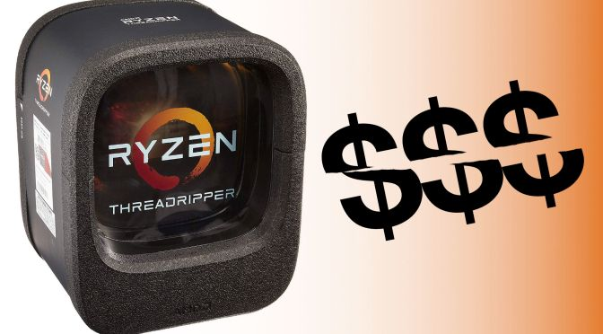 Sweet Shreds! 1st gen threadripper is on sale