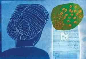 Radioactive: Marie Curie's Radical and Revolutionary Life, in Lyrical Cyanotype Illustrations