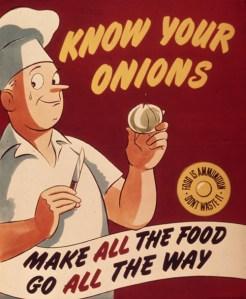 Delicious Vintage Food PSA Posters
