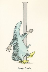 The Betrayed Confidence: Edward Gorey's Weird and Whimsical Vintage Illustrated Postcards