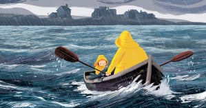 The Storm Whale: A Tender Illustrated Story of Loneliness, Loss, Single-Parenting, and the Redemptive Power of Love