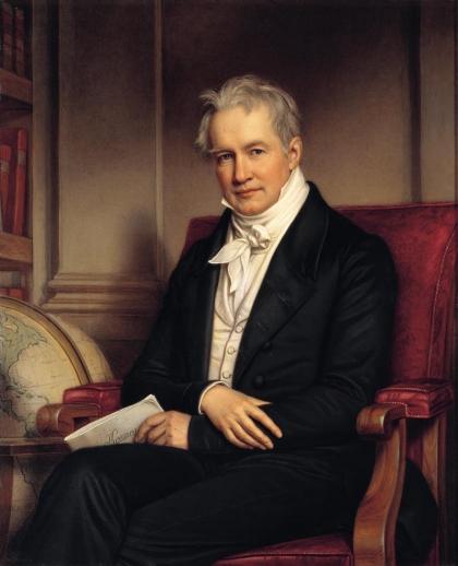 Alexander von Humboldt by Joseph Karl Stieler, 1843