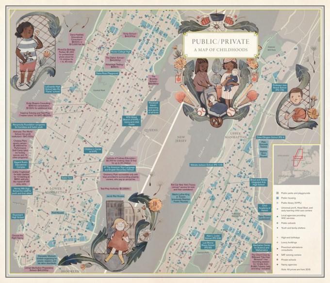 Cartography: Molly Roy; artwork: Kelsey Garrity-Riley