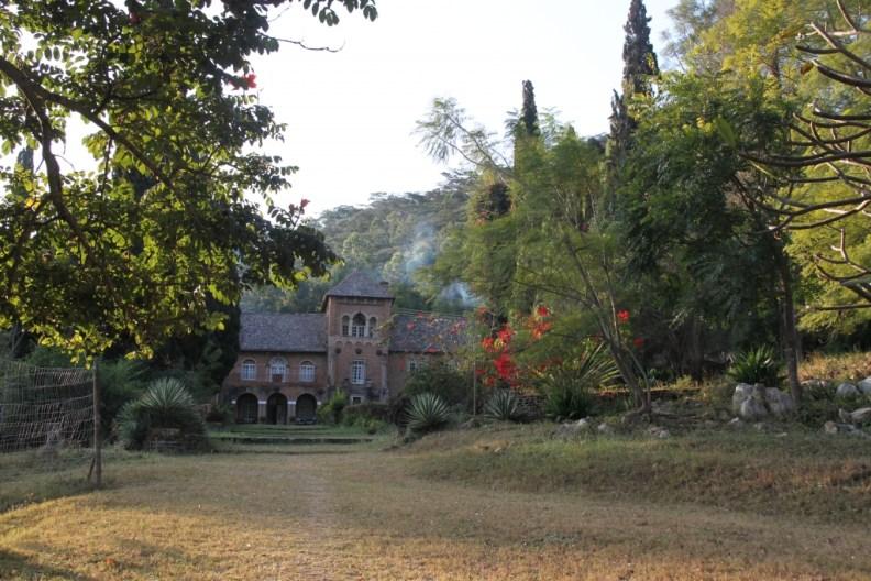 Shiwa House, from the garden