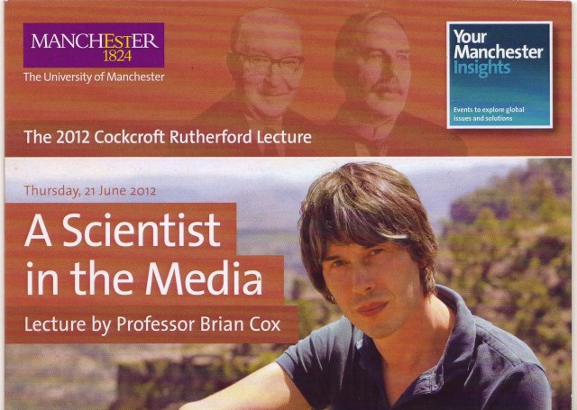 The Marketing of Science. Brian Cox - A Scientist in the Media