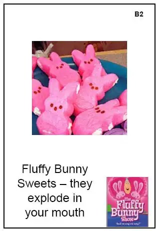 Product stimulus for The Fluffy Bunny Show