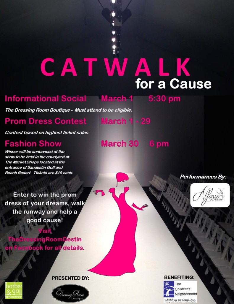 Poster Fashion Show Prom
