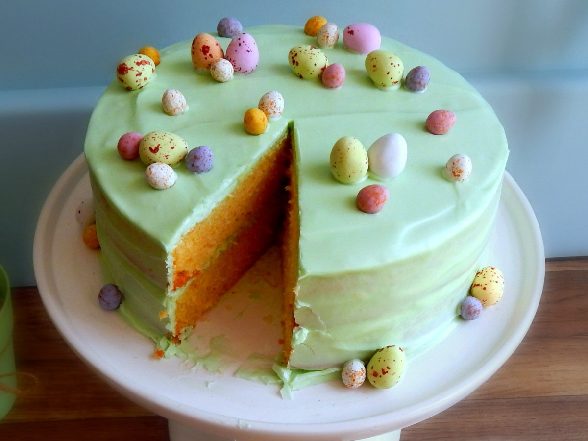 Duck Egg Cake