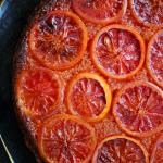 Blood Orange & Cardamom Tart