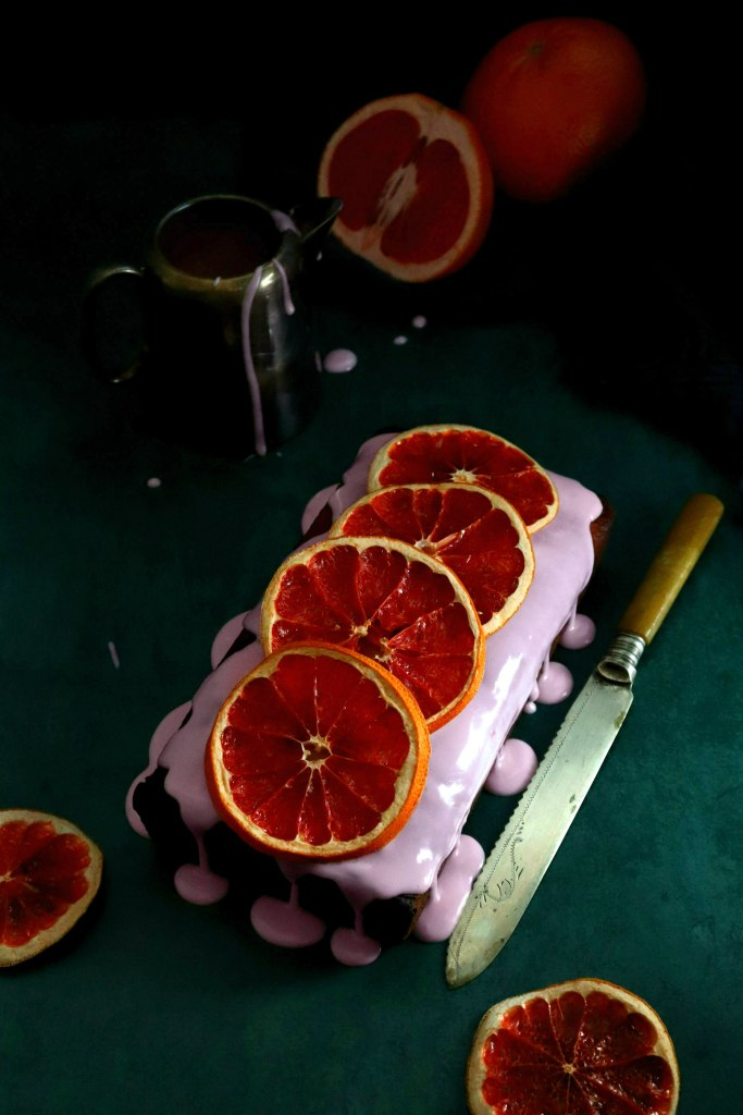 grapefruit poppy seed cake