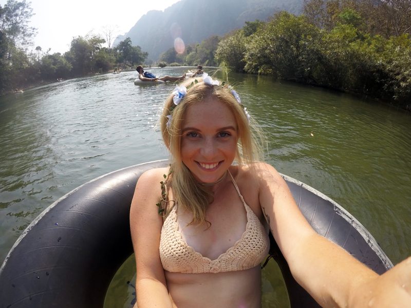 The Crazy Tubing Party in Vang Vieng