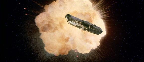 Alderaan Star Wars Exploding
