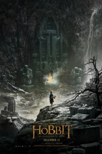 Poster for 2013 fantasy sequel The Hobbit: The Desolation of Smaug