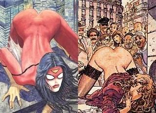 depepi, depepi.com, spider-woman, spider-woman variant cover, milo manara, marvel, marvel comics