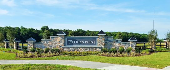 Pelican Point Entry Sign - Millsboro, DE