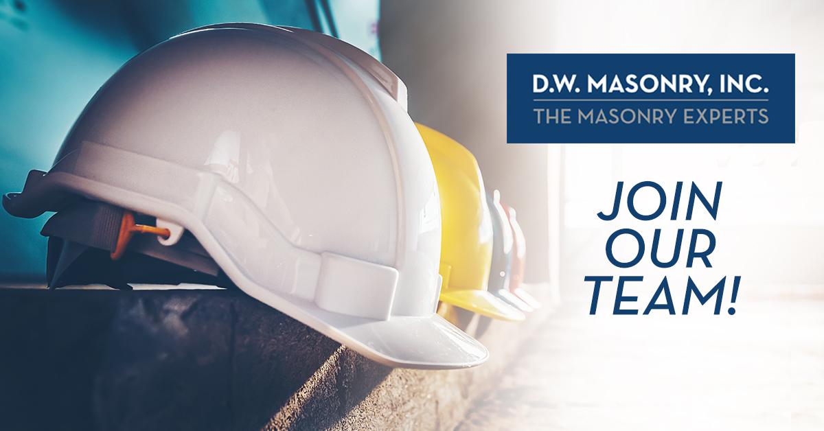 Careers at D.W. Masonry, Inc.