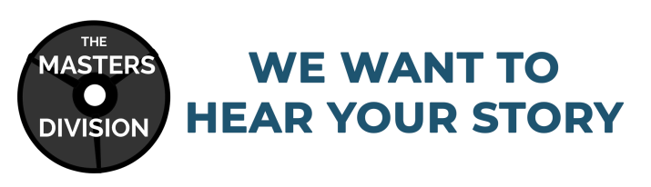 """""""We want to hear your story"""" banner"""