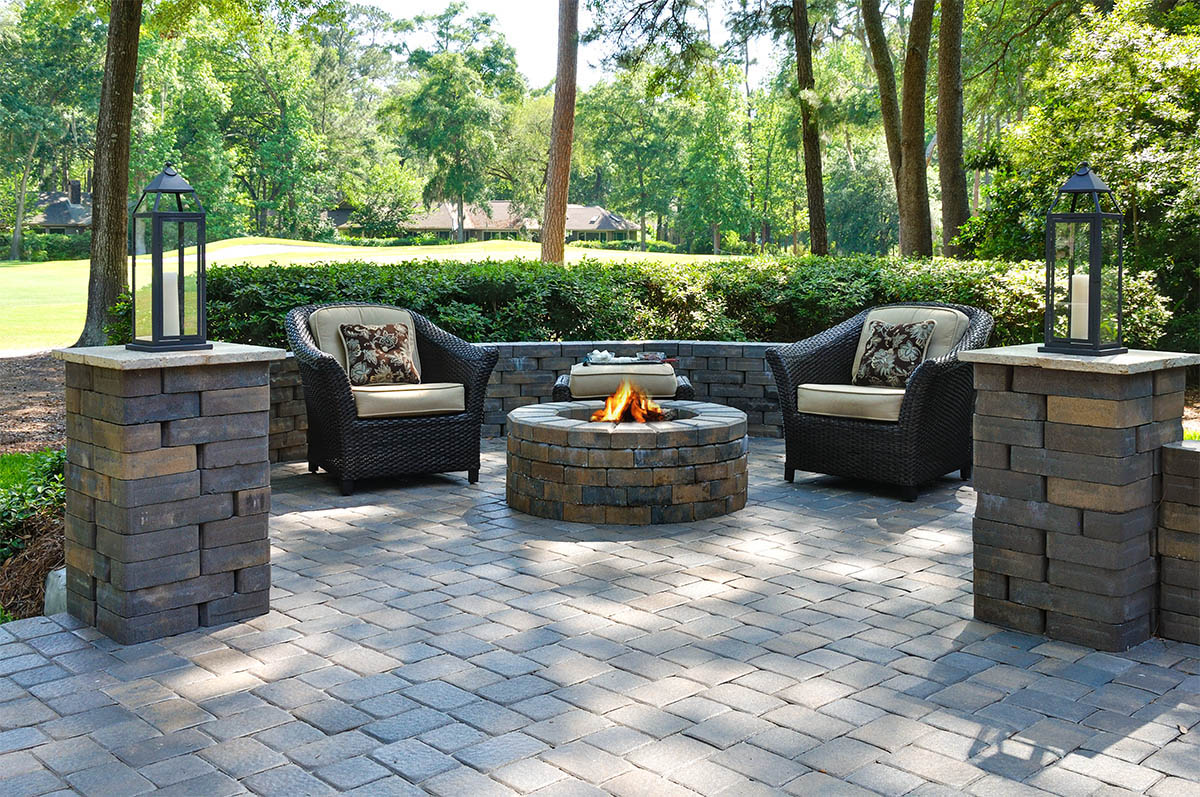 in gainesville brick pavers and patios