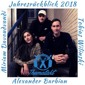 Miriam Davoudvandi, Alex Barbian und Tobias Wilinski im ThemaTakt-Podcast