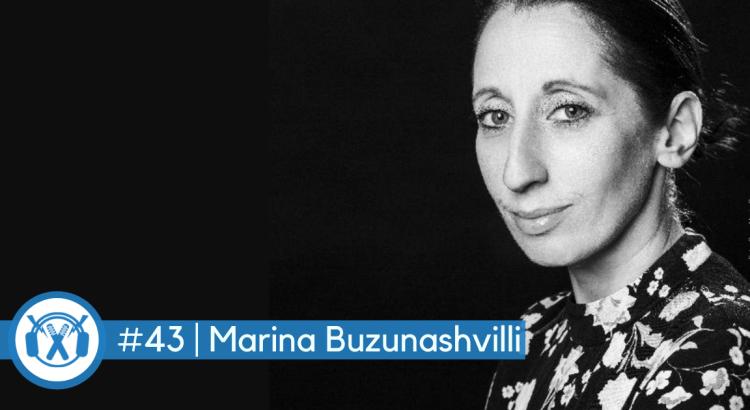 Promoterin Marina Buzunashvilli im ThemaTakt-Podcast