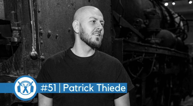 Labelchef und Manager Patrick Thiede im ThemaTakt-Podcast im Interview