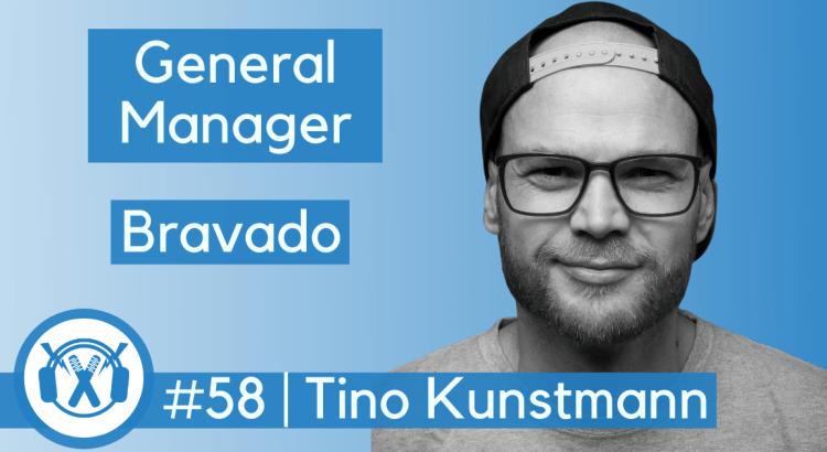Tino Kunstmann General Manager Bravado zu Gast beim Musikbusiness-Podcast ThemaTakt.