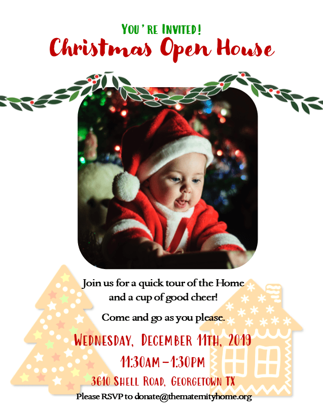 Christmas Open House 2021 Christmas Open House 2019 Annunciation Maternity Home