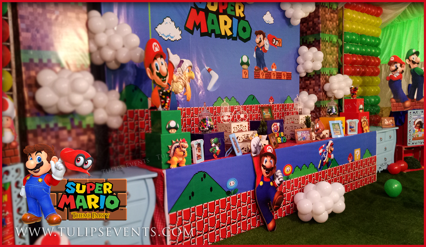 Super Mario Bros Party Best Birthday Party Planner In Lahore Pakistan Thematic Birthday Planner